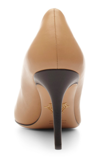 Desiree Unzipped Leather Pumps by CHARLOTTE OLYMPIA Now Available on Moda Operandi