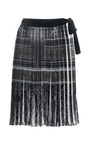 Printed Chiffon Sarong by CLOVER CANYON Now Available on Moda Operandi