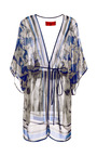 Printed Chiffon Cover Up by CLOVER CANYON Now Available on Moda Operandi
