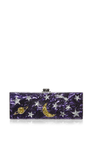 Medium edie parker multi flavia solar system clutch 2