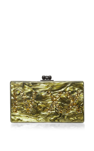 Medium edie parker gold mo exclusive jean iv xx clutch