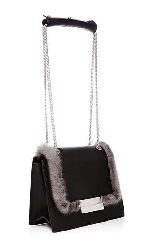 Melodie Classic Flap Bag With Chain Strap by J. MENDEL for Preorder on Moda Operandi