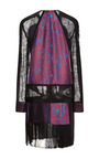 Long Sleeve Dress With Lace And Crepe Inserts by J. MENDEL for Preorder on Moda Operandi