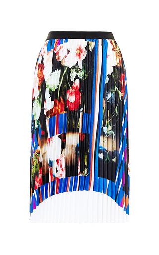 Medium clover canyon multi grecian bouquet skirt