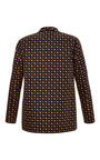 Square Tie Black Relaxed Blazer by SUNO for Preorder on Moda Operandi