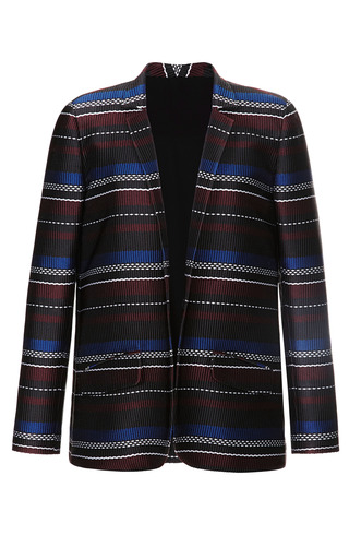 Medium suno stripe woven stripes relaxed blazer