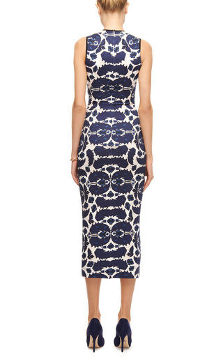 Edme Printed Jersey Midi Dress by MOTHER OF PEARL Now Available on Moda Operandi