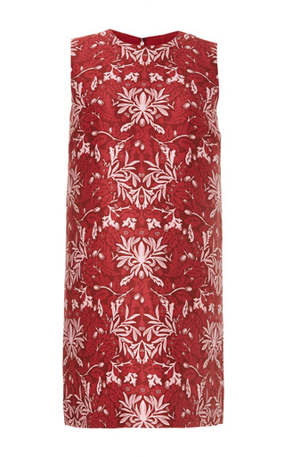 Franklin Printed Cotton Blend Shift Dress by MOTHER OF PEARL Now Available on Moda Operandi