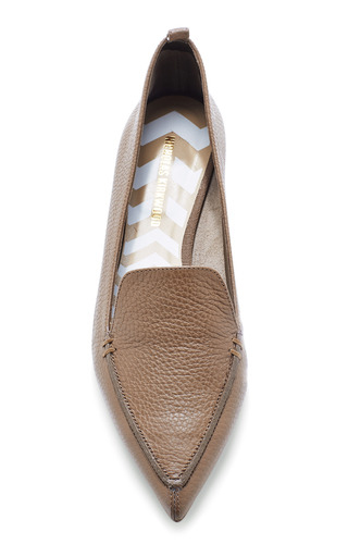 Soft Textured Leather Loafers by NICHOLAS KIRKWOOD Now Available on Moda Operandi