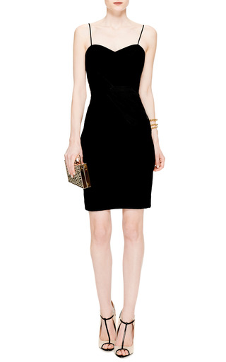 Silk Bow Waist Sheath Dress by PRABAL GURUNG Now Available on Moda Operandi