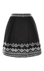 Embroidered Lace Two Pleat Skirt by SEA for Preorder on Moda Operandi