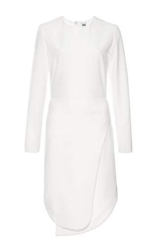 Medium opening ceremony white manera long sleeve keyhole dress 2