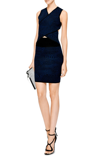 Jacquard Knit Cut Out Dress by OPENING CEREMONY Now Available on Moda Operandi