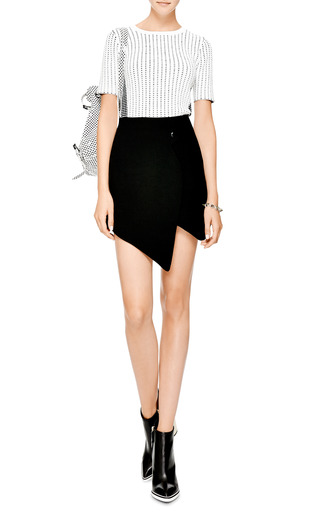 Isla Snap Crepe Skirt by OPENING CEREMONY Now Available on Moda Operandi