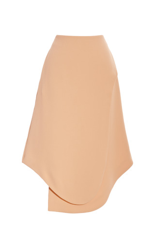 Theroux Angled Hem Crepe Skirt by OPENING CEREMONY Now Available on Moda Operandi