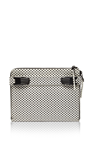 Medium opening ceremony white paloma tech clutch 2