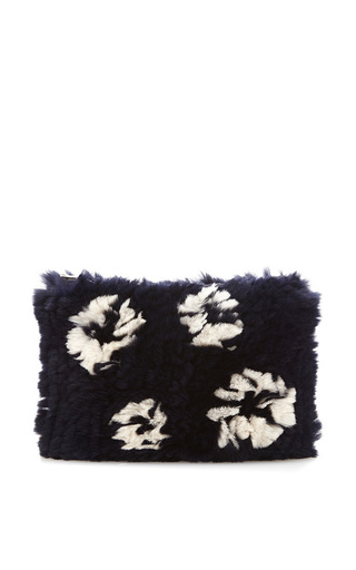 Rabbit Fur Clutch by THAKOON Now Available on Moda Operandi