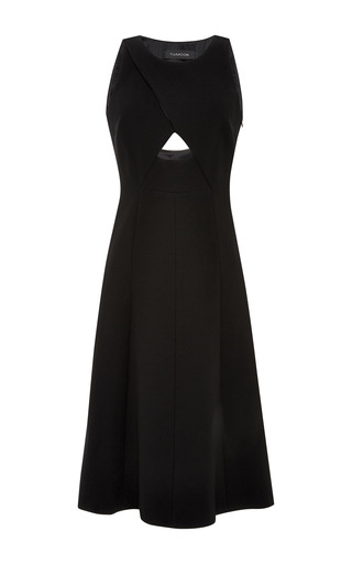 Medium thakoon black sleeveless cut out dress 2