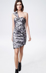 Floral Brocade Satin Dress by THAKOON Now Available on Moda Operandi
