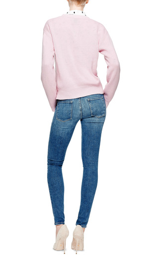 Yes Crewneck Cashmere Sweater by KARLA ŠPETIC Now Available on Moda Operandi