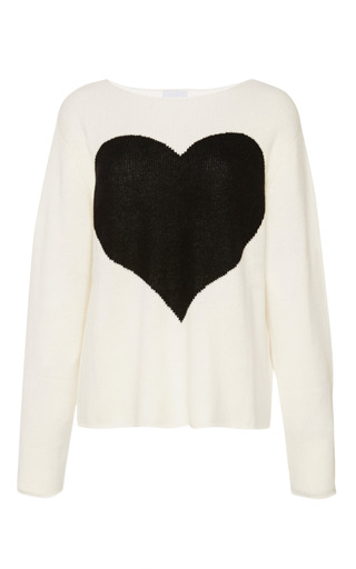 Medium karla spetic multi heart jumper