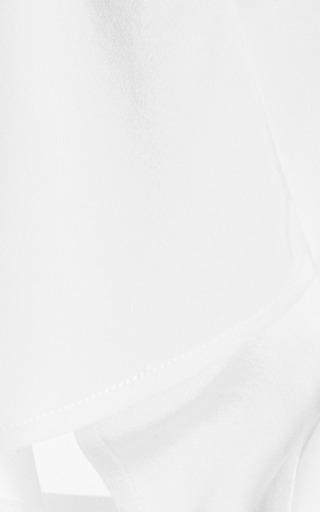 Silk Crepe De Chine Cape Top by TIBI Now Available on Moda Operandi