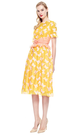 Creatures Of The Wind Butterfly Party Dress by VINTAGE VANGUARD for Preorder on Moda Operandi