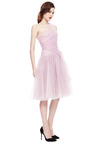 Marchesa One Shoulder Tulle Party Dress by VINTAGE VANGUARD for Preorder on Moda Operandi