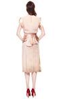Rodarte Vintage Aged Silk Dress With Satin Sash by VINTAGE VANGUARD for Preorder on Moda Operandi