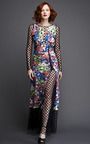 Thakoon Long Sleeve Lace Inset Dress by VINTAGE VANGUARD for Preorder on Moda Operandi