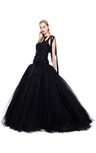 Zac Posen American Glamour Gown by VINTAGE VANGUARD for Preorder on Moda Operandi