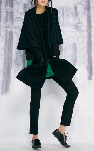 Evergreen Plaid Trapper Cap by TIBI for Preorder on Moda Operandi
