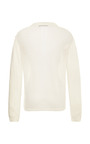 Melange Fine Gauge Cross Flap Pullover by TIBI for Preorder on Moda Operandi
