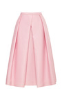 Simona Jacquard Full Skirt by TIBI Now Available on Moda Operandi