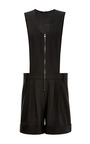 Tropical Wool Sleeveless Jumpsuit by TIBI for Preorder on Moda Operandi