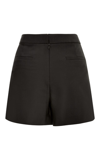 Tropical Wool Pleated Shorts by TIBI for Preorder on Moda Operandi