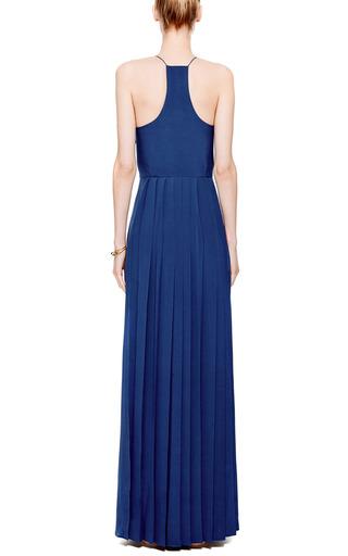 Pleated Silk Maxi Dress by TIBI Now Available on Moda Operandi
