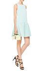 Katia Exposed Back Faille Dress by TIBI Now Available on Moda Operandi