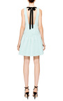 Katia Exposed Back Faille Dress by TIBI Now Available on Moda Operandi