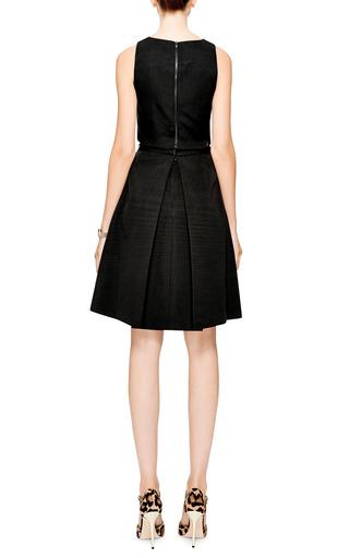 Katia Pleated Faille Skirt by TIBI Now Available on Moda Operandi