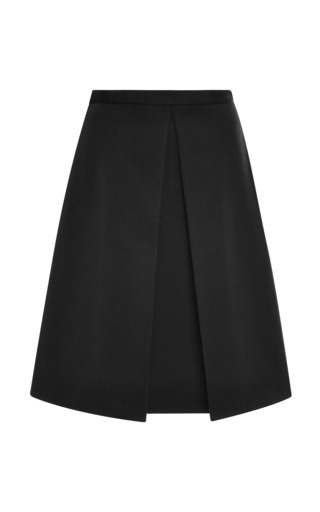 Medium tibi black katia faille pleat