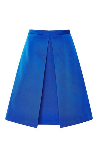 Medium tibi blue katia faille pleat 2