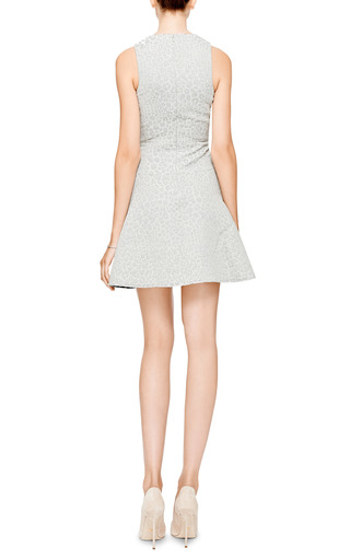Rime Jacquard A Line Dress by TIBI Now Available on Moda Operandi