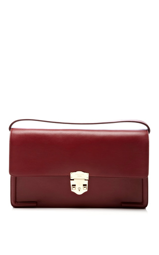 Medium rochas red mondine handbag
