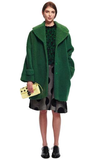 Embroidered Wool Polka Dot Skirt by ROCHAS for Preorder on Moda Operandi