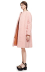 Peluche Powder Pink Coat by ROCHAS Now Available on Moda Operandi