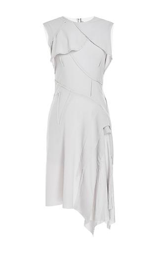Medium nina ricci dark grey stretch wool dress