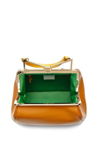 Lady Me Large Leather Handbag by SARA BATTAGLIA Now Available on Moda Operandi