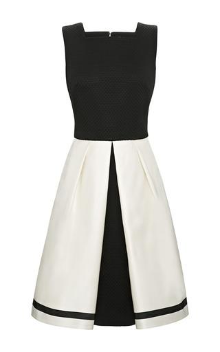 Medium katie ermilio white box pleat party dress