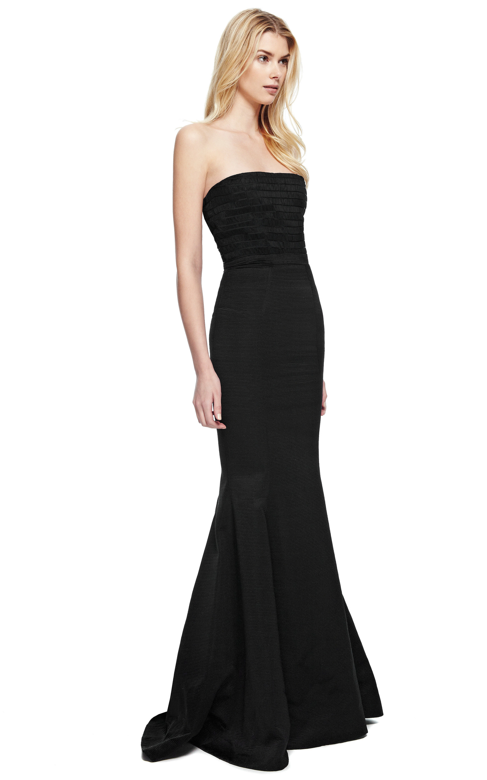 1312d4f976f8 Katie ErmilioCombo Fishtail Evening Gown. CLOSE. Loading. Loading